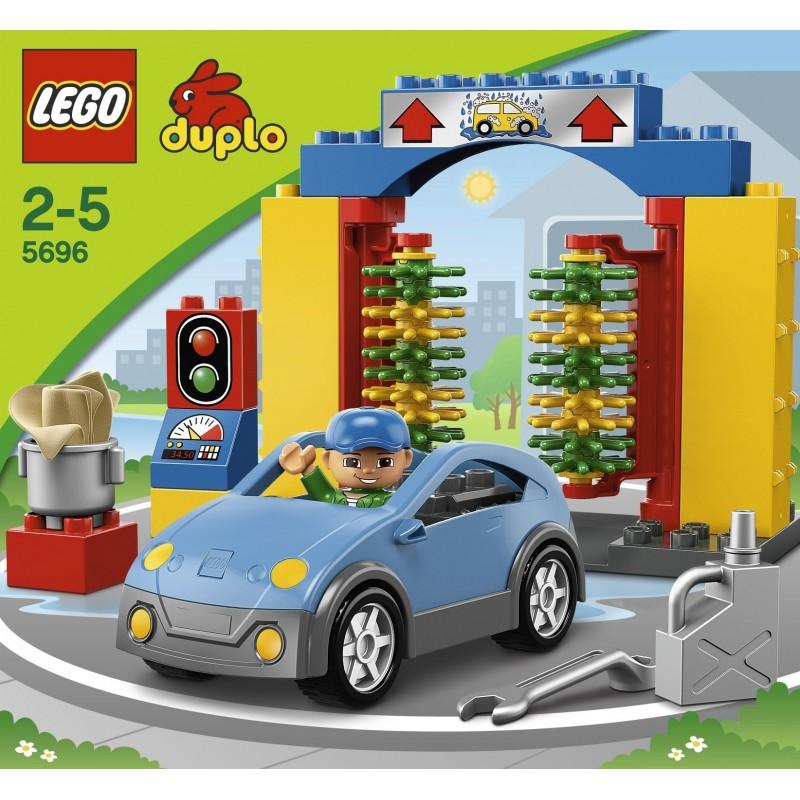 lego friends car wash instructions