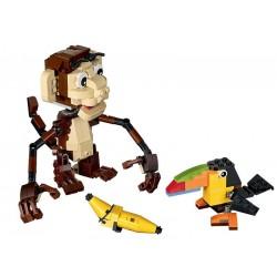 LEGO 31019 Zvířátka z džungle