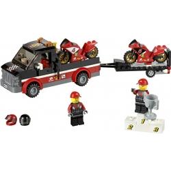 LEGO 60084 Přepravní kamión na závodní motorky