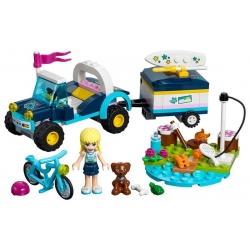 LEGO 41364 Stephanie a bugina s přívěsem