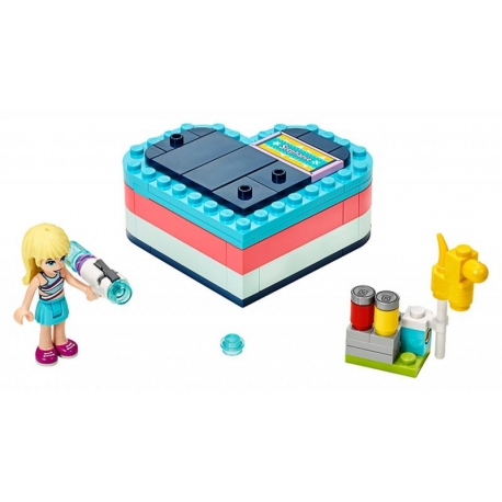 LEGO 41386 .Stephanie a letní srdcová krabička