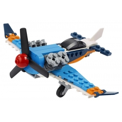 LEGO3 1099. Vrtulové letadlo