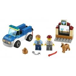 LEGO.60241.Jednotka s policejním psem