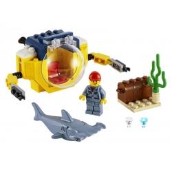 LEGO.60263.Oceánská mini ponorka
