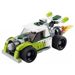 Lego 31103 Auto s raketovým pohonem