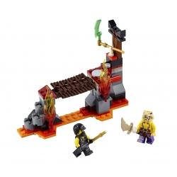 LEGO 70753 Lávové vodopády