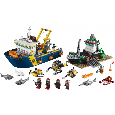 LEGO 60095 Plavidlo pro hlubinný mořský výzkum
