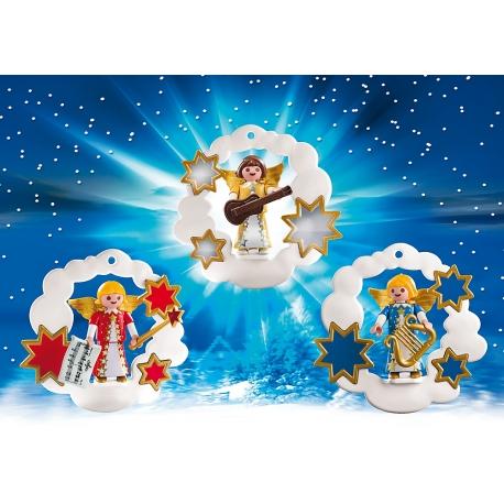 Vánoční dekorace s Andílky