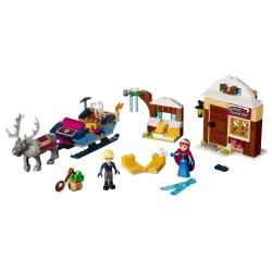 LEGO 41066 Dobrodružství na saních s Annou a Kristoffem