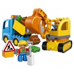 LEGO 10812 Pásový bagr a náklaďák