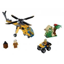 LEGO 60158 Nákladní helikoptéra do džungle