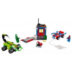 LEGO 10754 .Spider-Man vs. Scorpion - Souboj na silnici