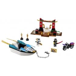 LEGO 10755 Pronásledování v Zaneově nindža člunu